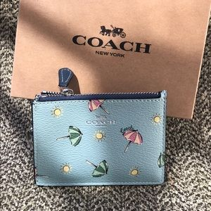 ☔️Coach Card Key Holder
